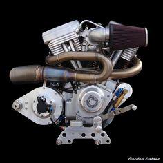 NO 17: CONFEDERATE HELLCAT COMBAT MOTORCYCLE ENGINE by Gordon Calder, via Flickr