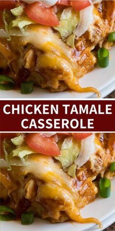dinner recipes for family main dishes This cheesy Chicken Tamale Casserole is a quick and easy family weeknight dinner that has all the flavors of classic tamales without all the fuss! Tamale Casserole, Casserole Dishes, Casserole Recipes, Cheesy Chicken Casserole, Mexican Dishes, Mexican Food Recipes, Mexican Desserts, Dinner Recipes, Chicken Tamales