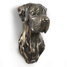 Great Dane uncropped dog hanging statue by ArtDogshopcenter