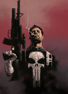 Punisher by Dave Seguin (Marvel comics) Punisher Marvel, Marvel Comics, Ms Marvel, Hero Marvel, Heros Comics, Bd Comics, Deadpool Wolverine, Captain Marvel, Marvel Avengers