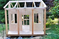 simple and cool kids play house - Google Search