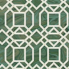 Daphne Green Trellis 2763 24244 Wallpaper Brewster Wallcoverings | Wallpaper Warehouse