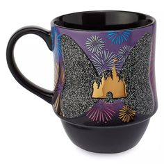 Minnie Mouse: The Main Attraction Mug – Nighttime Fireworks & Castle Finale – Limited Release | shopDisney