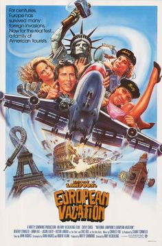 'European Vacation' (1985) - Lots of people will hate on this one as not as good as the others in the 'Vacation' series - here's all the reasons they are WRONG. Everything you want in an 80s movie! http://www.liketotally80s.com/2015/06/european-vacation/