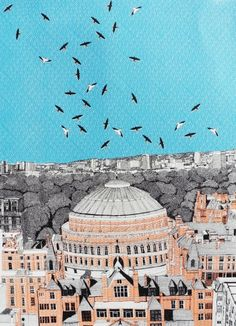 Find Rooftops at Royal Albert Hall by Clare Halifax online. Choose from thousands of contemporary artworks from exciting artists expertly-vetted by Rise Art's curators. Buy art online with confidence with free art advisory. Rise Art, Modern Oil Painting, Affordable Art Fair, Royal Albert Hall, Buy Art Online, Contemporary Artwork, Close Image, Art Gallery, Rooftops