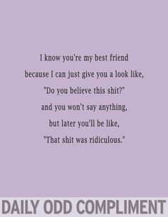 Odd Compliment....hahaha & we can keep REAL quiet & classy about it.. ;) @lynndsey573   @sjbueker  @lonimac   @dana33d @ambergracelynn
