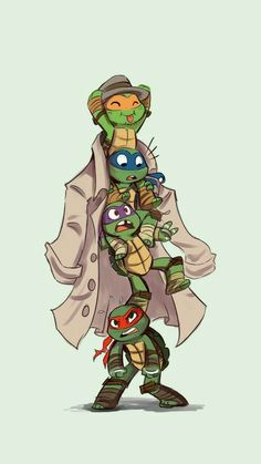 I don't know if I should put this under my TMNT or Turtle Tots board.