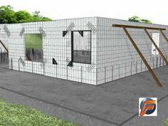 MUROPLAC (Sistema de construccion liviano y sismo-resistente))