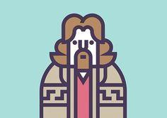 Coen Cast: Illustration Series by Richard Perez | Inspiration Grid | Design Inspiration