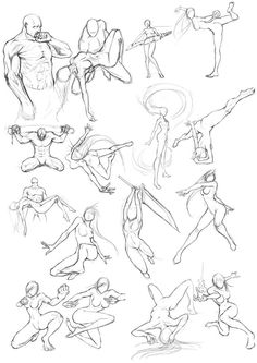Figure drawing is challenging. Drawing Body Poses, Gesture Drawing, Drawing Base, Anime Poses Reference, Figure Drawing Reference, Sketch Poses, Poses References, Art Poses, Drawing Lessons