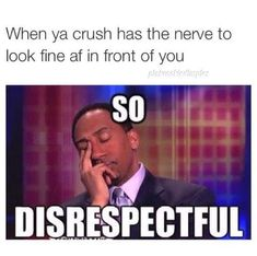 20 Crush Memes When You See Your. Check out this hilarious when you see your crush memes and get a lot of fun…. Funny Crush Memes, Crush Humor, Memes Humor, Funny Relatable Memes, Jokes, Funniest Memes, Dog Memes, Crude Memes, Crush Crush