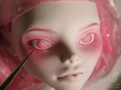 DIY Tutorial - Monster High doll repaint - step by step tutorial by Engelmech
