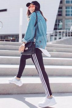 36 Adidas Pants Outfit Ideas Super Combo Of Comfort And Beauty