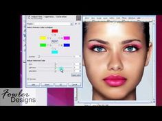 Gimp Tutorial - How to Remove Blemishes & Apply Make Up Part 1 [Fowler-Designs.com]