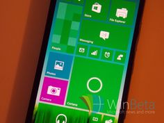 Windows 10 on smartphones