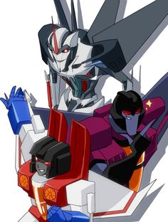 Starscreams.<<<G1 is the cutest, even if TFP is smarter. But Skywarp, Thundercracker, and Sunstorm come with the first, so it's G1 FTW