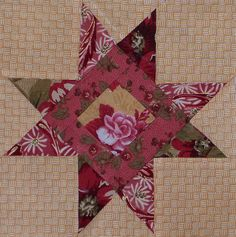 Star Quilt Block... Troy's ACUs and Blue accent?? #surprisechristmaspresent
