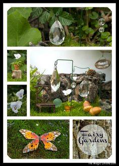 Making sun catchers - Fairy Gardens on The Magic Onions :: www.theMagicOnions.com