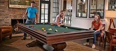 Your family would love this Brunswick Mackenzie table today and in 50 years from now Brunswick Pool Tables