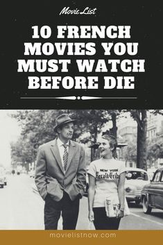 10 French Movies You Must Watch Before Die. … 10 French Movies You Must Watch Before Die. Must Watch Movies List, Movie List, Fantasy Movies, Sci Fi Movies, Thriller, Netflix Shows To Watch, French Romance, Funny Films, French Movies