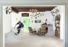 Skateboard Interior in one cozy house