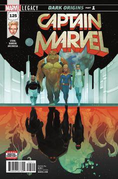 Captain Marvel #125 - Dark Origins, Part 1