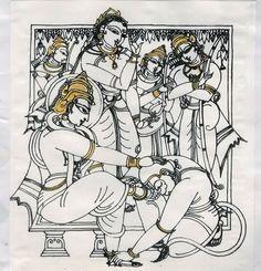 Indian Traditional Paintings, Indian Art Paintings, Kerala Mural Painting, Painting Art, Wall Mural Painting, Madhubani Art, Madhubani Painting, Indian Folk Art, Indian Artist