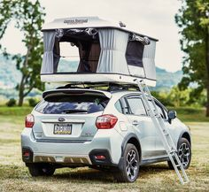 The James Baroud Evasion Evolution is the most popular roof top tent in the line, and features ample interior room with storage pockets.