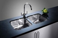 You May Choose An Undermount Sink With One Large Bowl Only, If You Prefer To