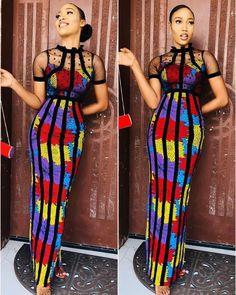 Latest Ankara Dresses, African Maxi Dresses, African Dresses For Women, African Attire, African Wear, Casual Dresses For Women, African Style, Ankara Styles, African Women