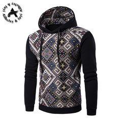 2017 Fashion Hoodie Men Patchwork Stitching Raglan Sleeve Ethnic Style Hoodies Casual Male Sweatshirt Tracksuits Masculino