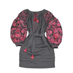 Bohemian Style Dresses, Boho Summer Dresses, Hippie Dresses, Boho Dress, Casual Dresses, Grey Fashion, Boho Fashion, Fashion Dresses, Style Fashion