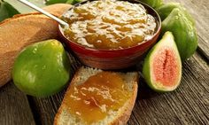 Receta de Mermelada de higos Marmalade Jam, Jam And Jelly, Sweet Sauce, Sweet And Salty, Finger Foods, Mexican Food Recipes, Queso, Good Food, Food And Drink