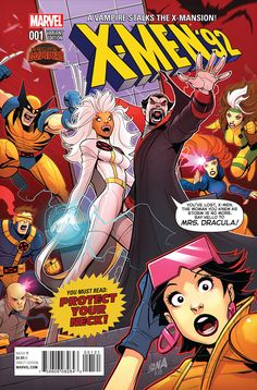 Preview: X-Men '92 #1, Page 5 of 9 - Comic Book Resources