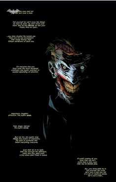 Joker is terrifying in the New 52.