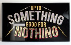 A New Generation of Designers is Escaping Their Computer Screens…to Paint Signs Up To Something, Signwriting, Like Quotes, Typography, Lettering, Enamel Paint, Hand Painted Signs, Custom Paint, Signage