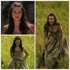 Mary's Green Dress (hair down) 4x04: Playing With Fire