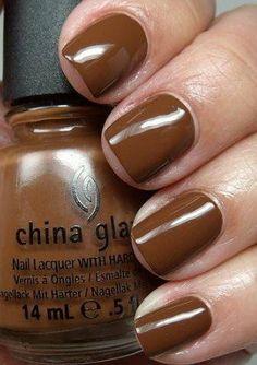 China Glaze Nail Polish Lacquer The Hunger Games Collection Mahogany Magic # 80620 14ml 0.5oz