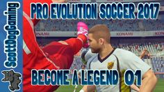 Pro Evolution Soccer 2017 Become A Pro 01 ScottDogGaming English PES17  http://youtu.be/4_uBDYIscjM Pro Evolution Soccer 2017 Become A Pro 01 ScottDogGaming PRO EVO 2017 PES 2017 The award winning series returns taking the famed gameplay to a new level by achieving interactive reality in both control and new authentic visuals. Control Reality in Pro Evolution Soccer 2017 with these new features:  Real Touch  Players control the ball in unique ways based on where and how you control them…