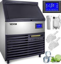 (This is an affiliate pin) VEVOR Commercial Ice Maker Supermarkets