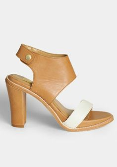 Gwendolyn Heels In Tan By Dolce Vita - $165.00 : ThreadSence, Women's Indie & Bohemian Clothing, Dresses, & Accessories