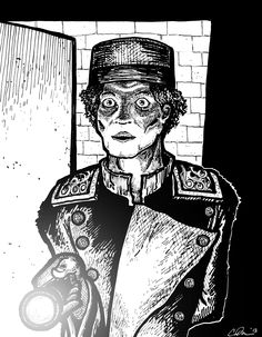 The Usher - from Chiller Thrillers Horror Anthology! Art by Erik Reichenbach