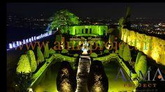 ALMA PROJECT @ Villa Gamberaia - Garden lighting - Party Deejay Basic Setup & Lighting - Alma Staff