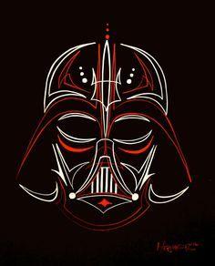 Star Wars pin striping
