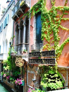 Trattoria Sempione - Venice, Italy.  Go to www.YourTravelVideos.com or just click on photo for home videos and much more on sites like this.