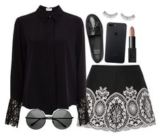 """""""Untitled #1698"""" by ibthal-hussain ❤ liked on Polyvore featuring FitFlop, Exclusive for Intermix and NARS Cosmetics"""