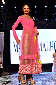 Anarkalis by Manish Malhotra. To view more, visit: http://www.vogue.in/content/8-ways-wear-sheer-manish-malhotra-0#1