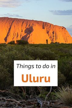 Things to do in Uluru - Kata Tjuta, Australia - the guide of places to see around the famous rock - Click to open the guide with many photos and detailed information to plan your visit