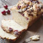 Sweet Yeast Bread with a Cream Cheese, Fresh Cherry and Crumble Topping - Seasons and Suppers