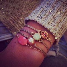 Favo eyecandy bracelets of Follow your Bliss <3 www.followyourbliss.nl